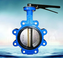 agricultural irrigation valve cast iron butterfly valve handles with price