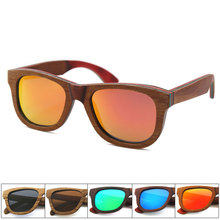 Manfacture wood sunglasses custom logo for travel