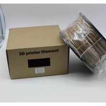 Flexible Rubber /WOOD /PETG filament 3d printing supplies for 3D printer