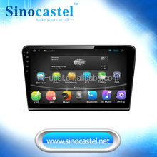For vw bora 10.1 inch android car navigation and entertainment system built in gps and android 4.4.4 O.S