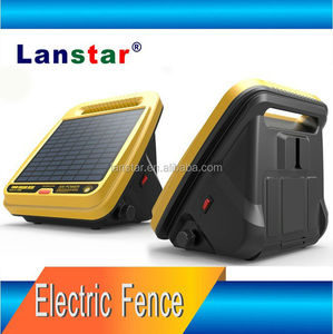 Solar Animals Managing Machine, 12V Electric Power Fence For Farm and Manor, New Energy Pulse Electric Fence Energizer