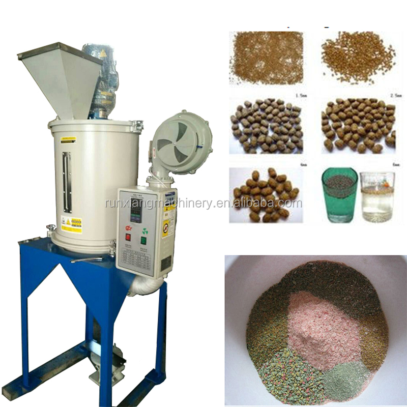 Maize Dryer Plastic Dry Powder Mixing Price Floating Fish Feed Pellet Machine