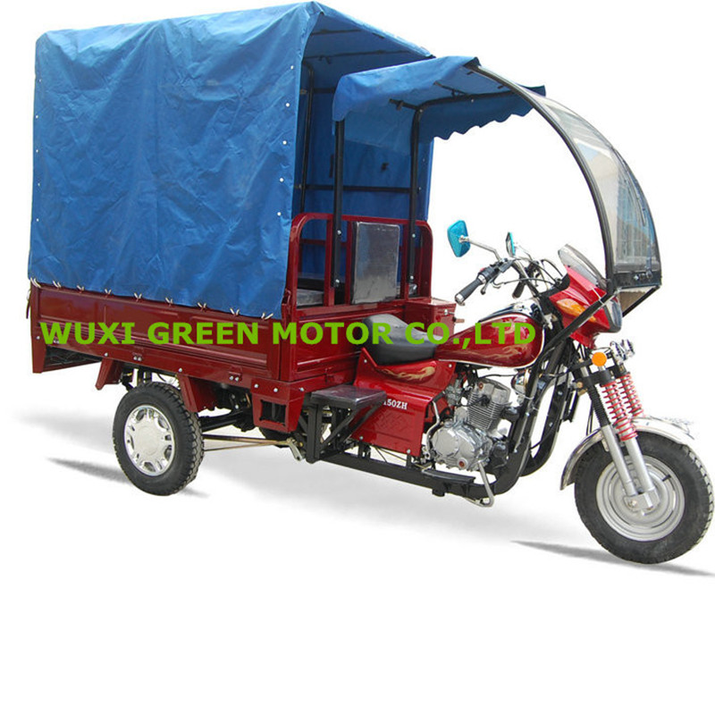 three wheel motorcycle 150cc 200cc TAXI passenger tricycles motorised rickshaw