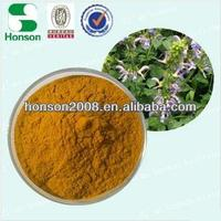 GMP+ISO9001 danshen root extract/ salvia extract material for antiphlogosis by manufacture