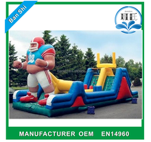 high quality inflatable obstacles small fun city for kids,
