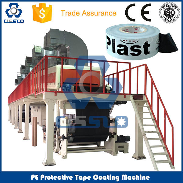 FULLY AUTOMATIC PE PROTECTIVE TAPE COATING MACHINE