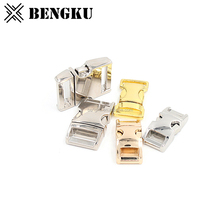 metal side release safety breakaway steel buckle