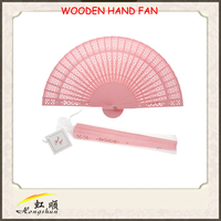 New products wholesale customizable wood ceiling handheld fan