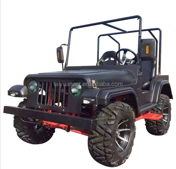 New Arrival 4 Wheel Sand Beach Jeep Car 200CC ATV Motorcycle Cool 4 Wheel Go Kart UTV Sightseeing Vehicle For Sale