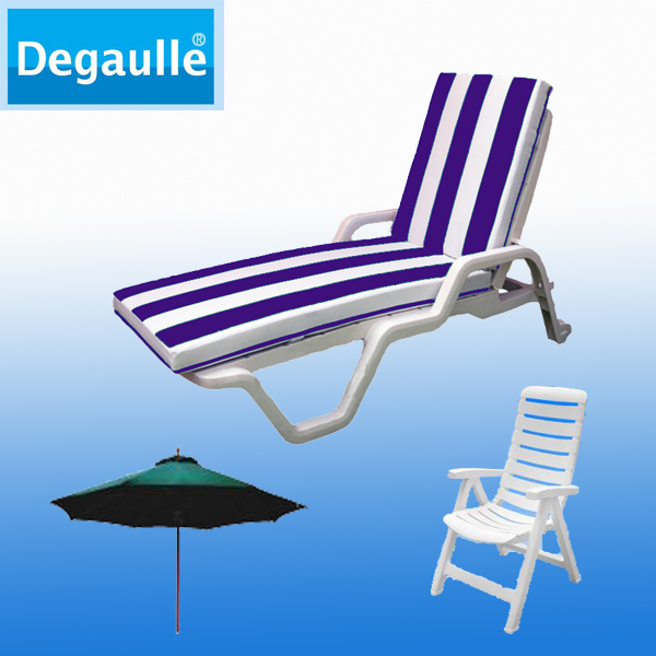 Beach Chairs Folding Plastic Beach Sun Lounger