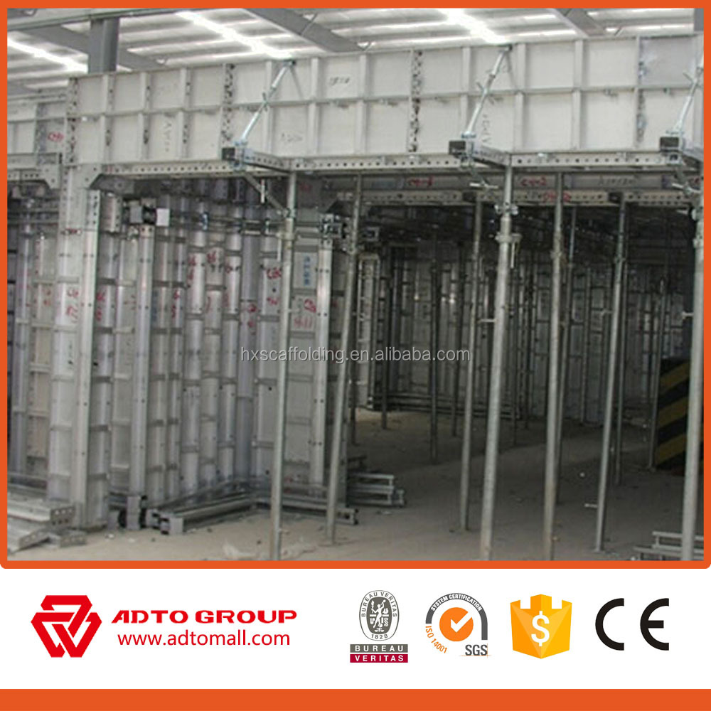 New Type Patented Product Q235 Cold Rolled Steel Concrete Wall Formwork System