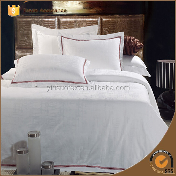 Thread Count Egyptian Cotton Hotel Bed Sheet Linen Set/hotel Bedding Set 140x200