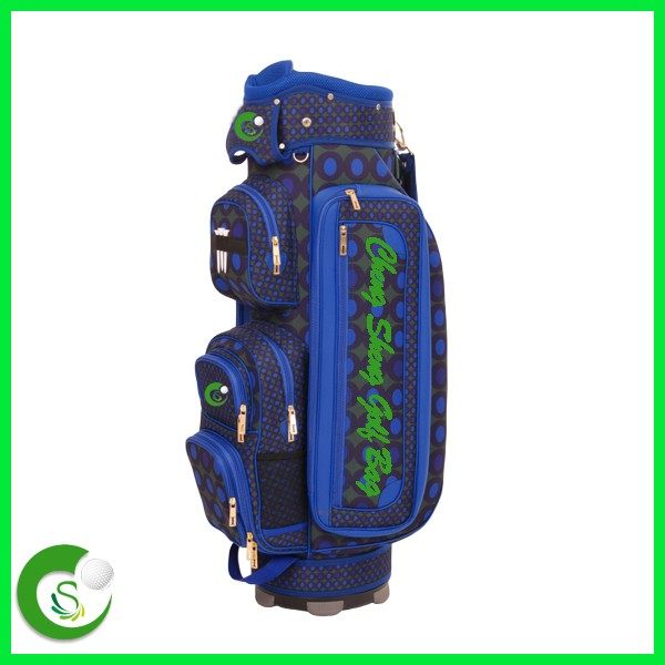 Fashion PU Leather Golf Bag