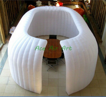 events decoration hot sale good quality inflatable tent rooms, inflatable exhibition equipment for exhibition show