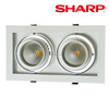 Fashionable best price led recessed downlight,led downlight square,led downlight dimmable
