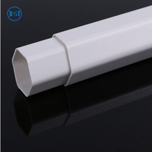 high quality six sides pvc hexagon tube pipe