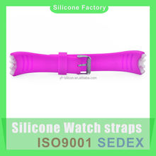 Any size silicone rubber watch strap Manufacturer custom your watch strap