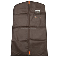 Guangzhou factory hot sell clear Suit cover garment bag for men
