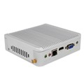 Zooly Silver Aluminum Alloy Case Intel Core i3 Mini Pc