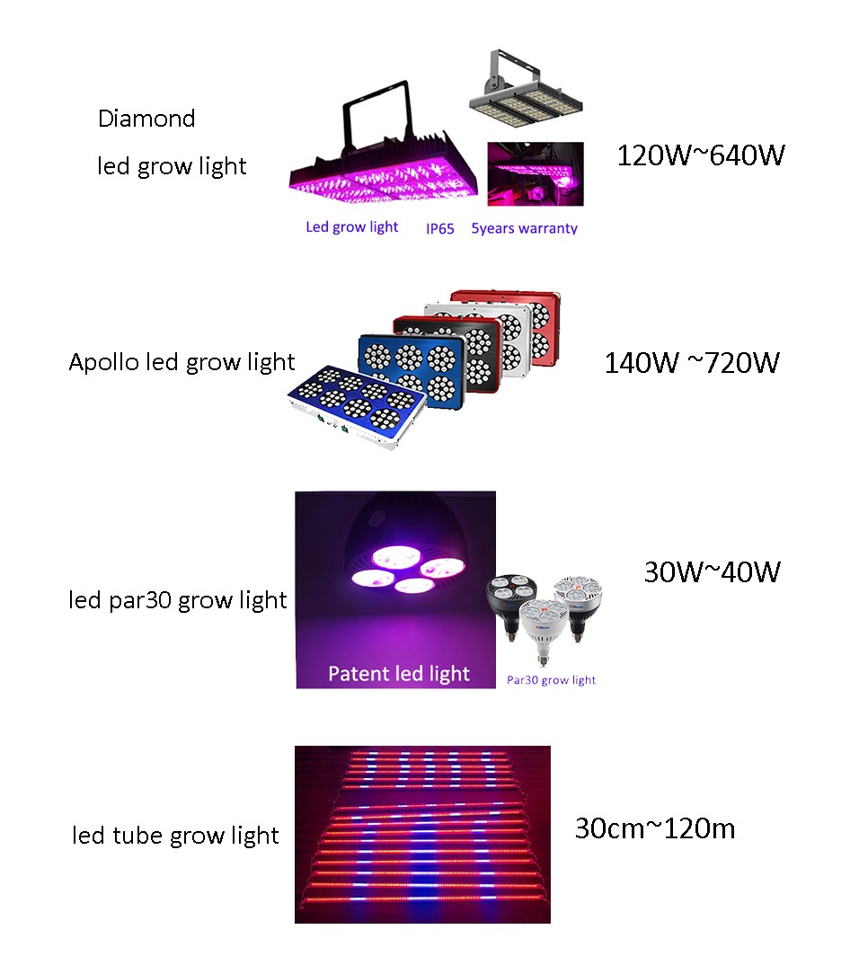 2018 New Product Full Spectrum CE RoHS E27 bBulb Led Grow Light For Greenhouse Parlight Led Grow Light 60W