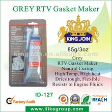 High Resistant RTV Silicone Sealant Grey
