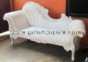 French Chaise Lounge Indoor Furniture