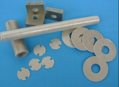 Insulation mica Parts with customer parameter in various applications