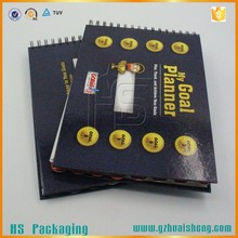 Publications printing spiral binding hardcover book printing