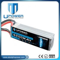 Lithium polymer 72v 40ah lifepo4 battery pack for longtime RC flight