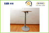 Popular & Mordern adjustable height bar table by hydraulic