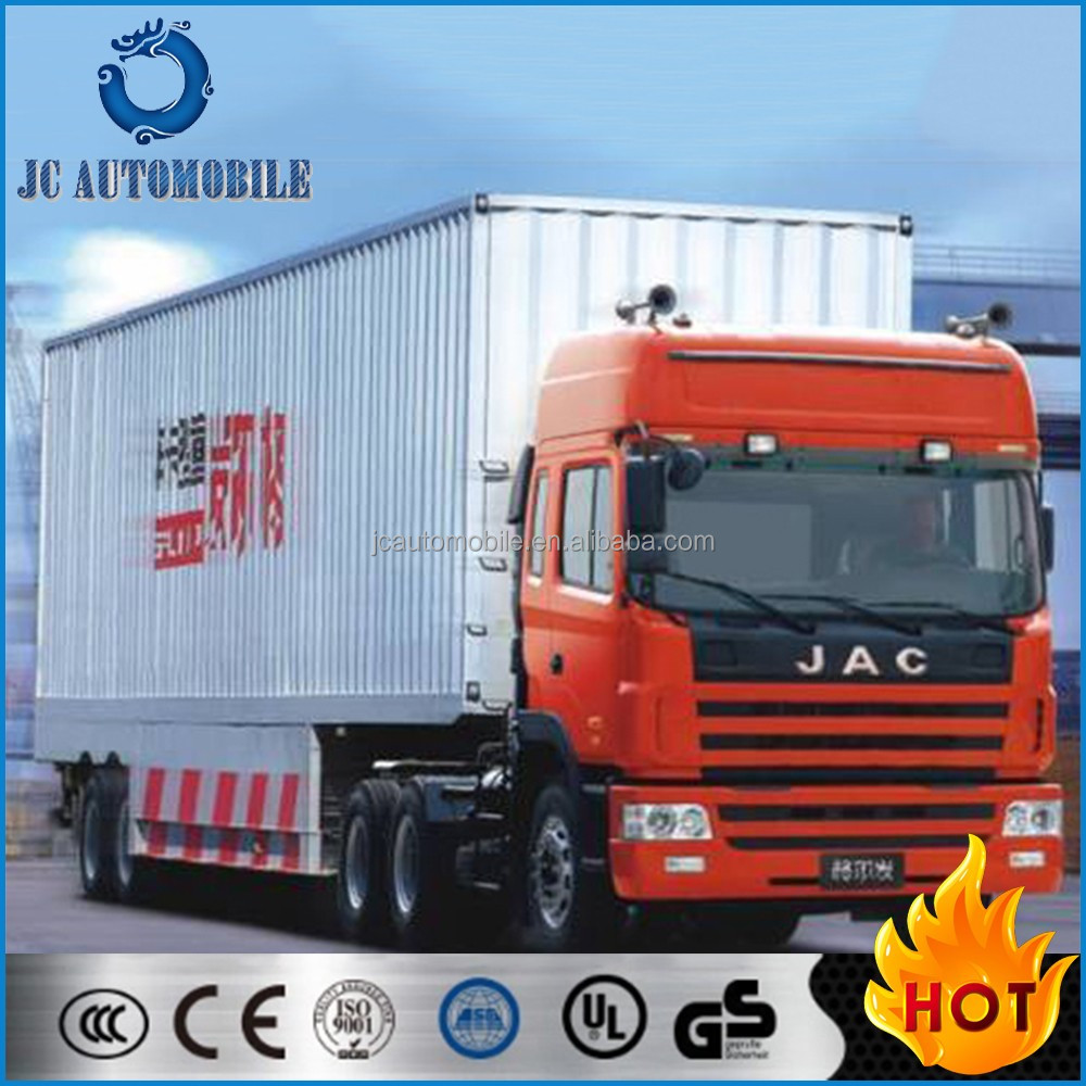 Low price 10 wheeler JAC tractor trucks, prime mover 40-60tons