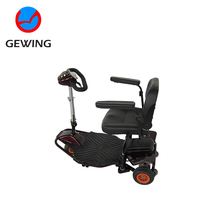 500W Zappy Three Wheel Electric Scooter Tricycle For Disabled With Ce Approved