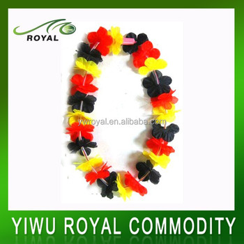 Germany Party Decoration Silk Flower Hawaiian Leis Wholesale