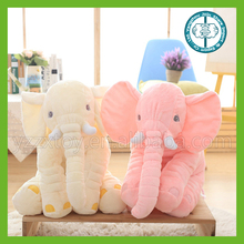 New design plush animal material elephant with big white teeth