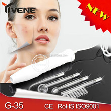 Personal Massager galvanic facial machine high frequency facial derma beauty wand