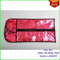 hot sale pvc hair packing bag/Most Popular Wholesale Price Virgin Human Hair Extension wig bag