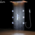 Modern Shower Ceiling LED Shower Set Rainfall Thermostatic Shower Faucets massage shower body spray