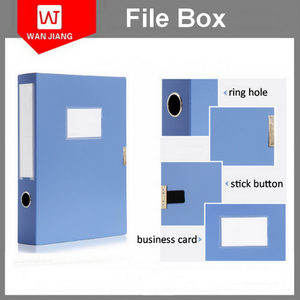 China Wholesale Office Stationery File Folder a4 size plastic document storage boxes