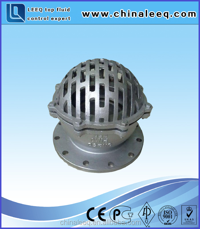 Easy To Use Made In China Cast Steel Foot Valve