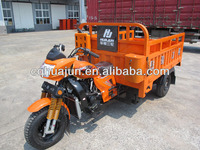 heavy duty cargo three wheeler/ motor tricycle/ triciclo/ trimotor for sale