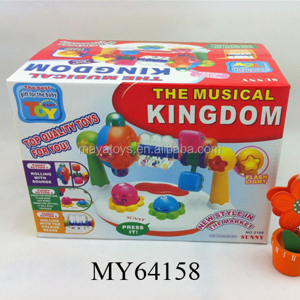 Baby activity center toy musical kingdom playing Station toys