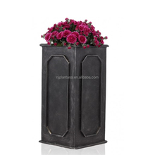European style tall glass fiber nursery pottery planter
