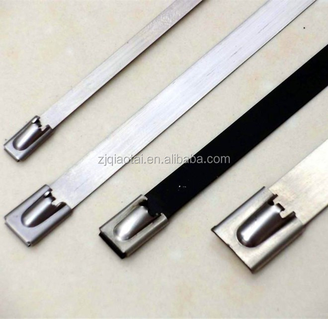 Steel Cable Banding : Manufacturer supply stainless steel cable tie