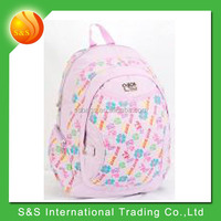 prompt goods durable school kids and teenager backpack made in china