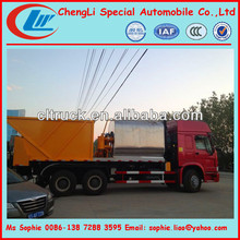 asphalt mixer truck, Rubber chip sealer truck supplier