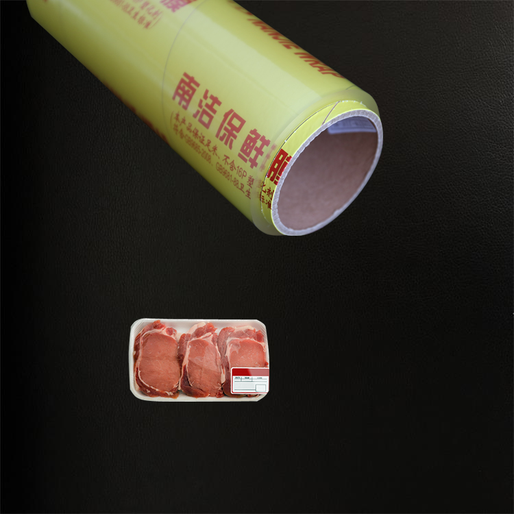 Mirco thin Grade A clear pvc film in food wrap