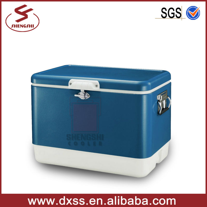 54L Multifunction beer retro metal cool chest barrel ice cooler