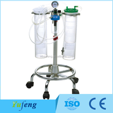 CE approved 4000ml suction regulator with trolley