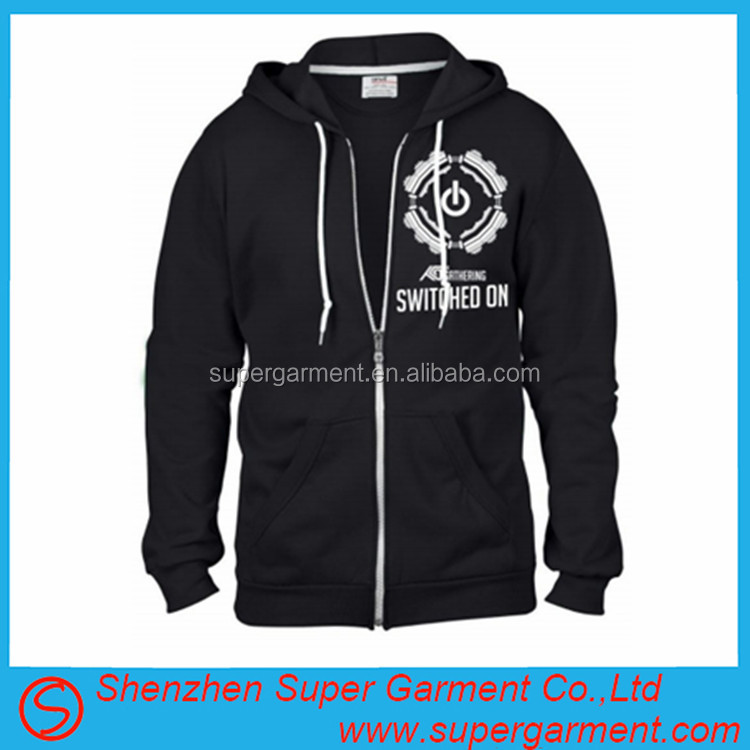 Zip Hooded Sweatshirts Wholesale 4