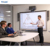 55inch all in one multimedia teaching machine portable touch whiteboard